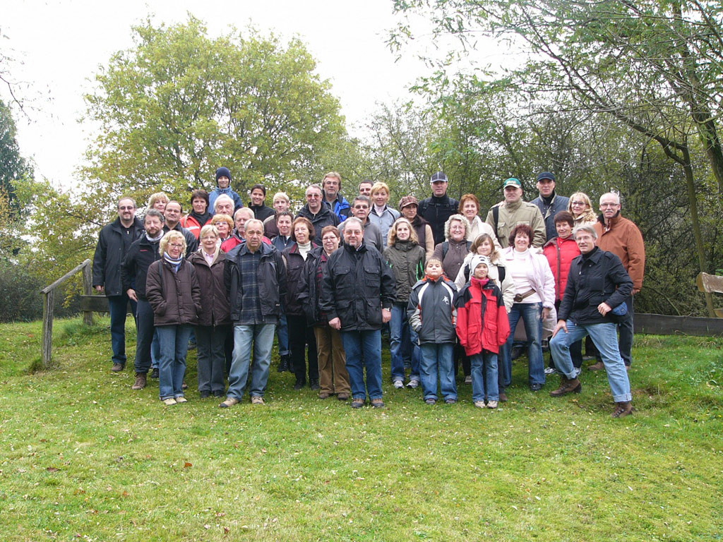 Gruppenfoto Herbstwanderung 2007