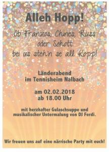 2018_Fastnacht Tennisheim_Länderabend A4